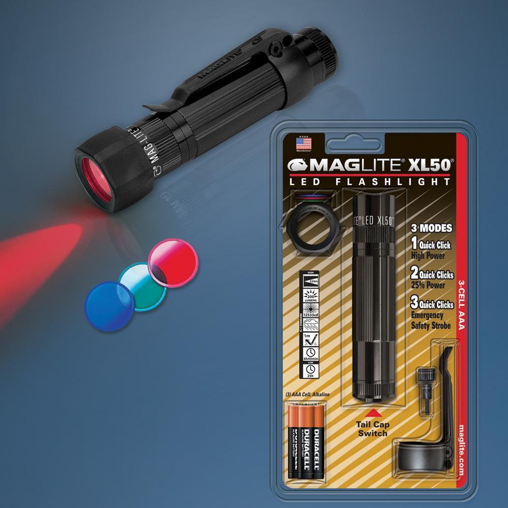 Maglite Original Xl50 Maglite 3cell Aaa Led Flashlight