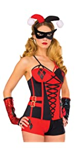 Amazon.com: Rubies Womens Suicide Squad Deluxe Harley ...