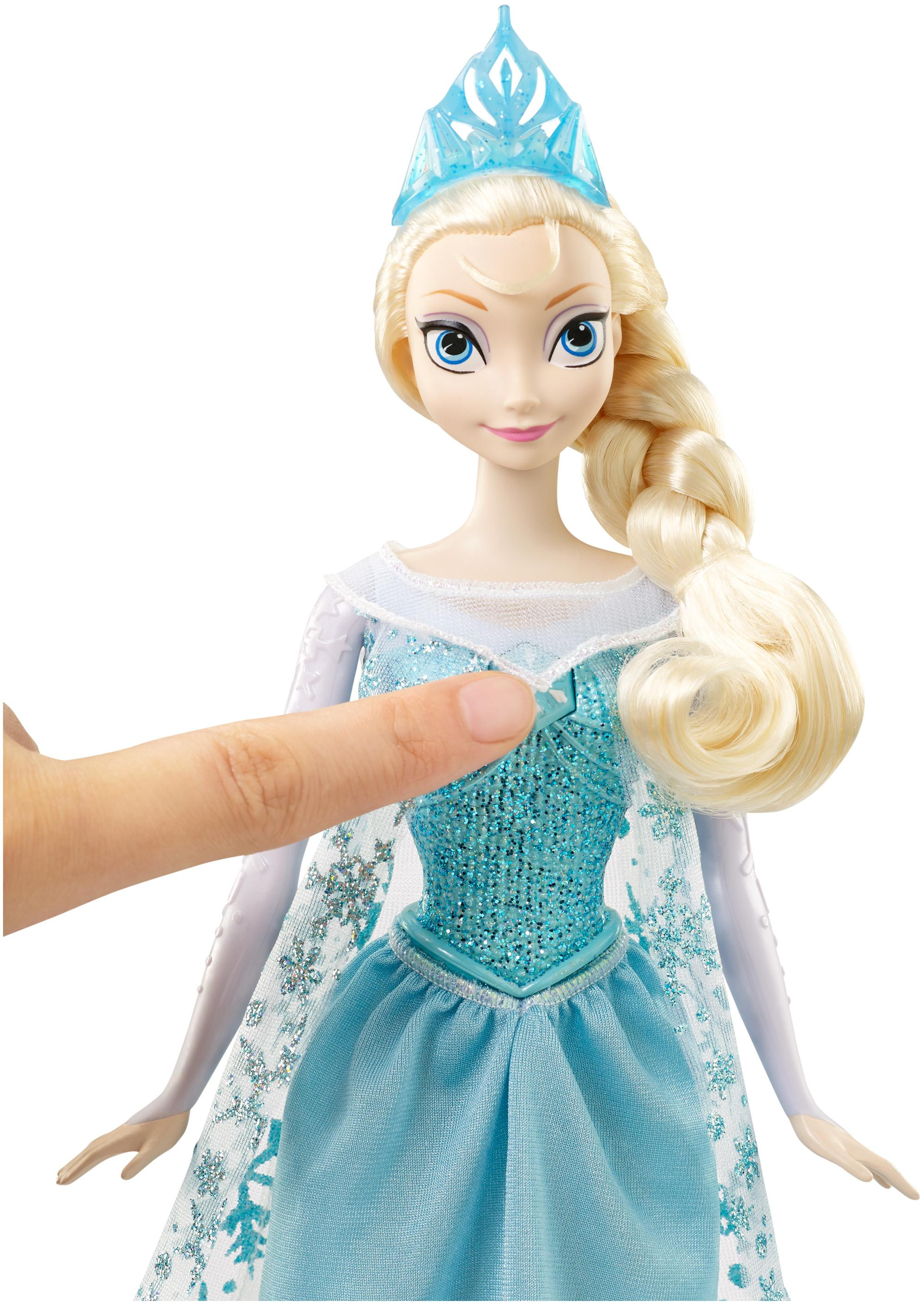 Buy disney frozen singing elsa doll online at low prices in india view larger voltagebd Choice Image