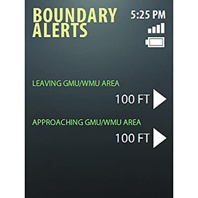 Hunting Boundary Alerts