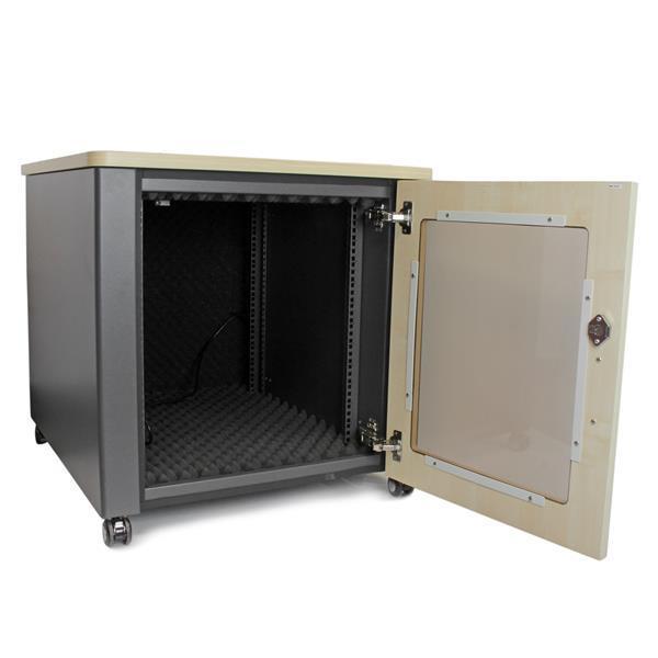 StarTech.com 12U Rack Enclosure Server Cabinet - 21.5 in. Deep ...