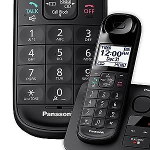 Panasonic KX-TGL433B Enhance Visibility and Control