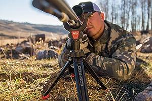bogpod tripod, bog pod, bog-pod, hunting rest, trigger sticks, primos, primos tripod, bog, bog gear,