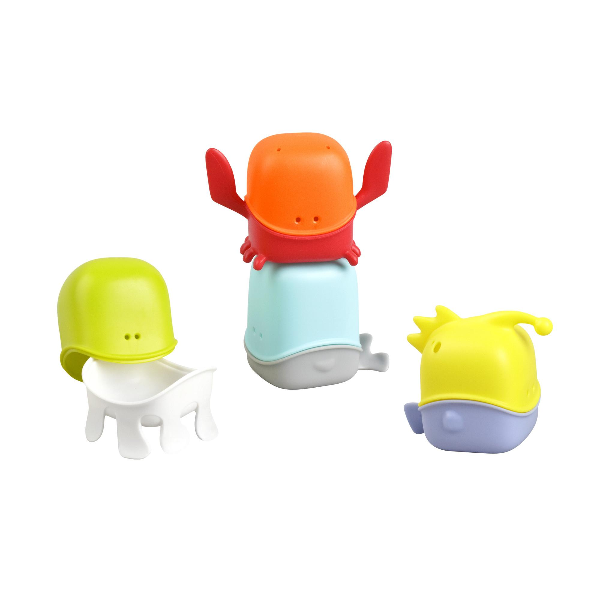 Amazon Com Boon Creatures Interchangeable Bath Toy Cup