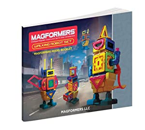 Magformers Walking Robot Idea Booklet