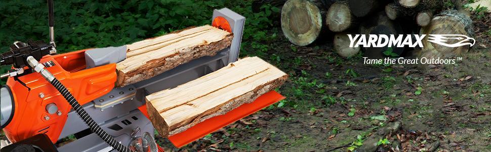 25 ton, log splitter, half beam, lightweight, compact, easy, 4-way, 2-way, Briggs & Stratton