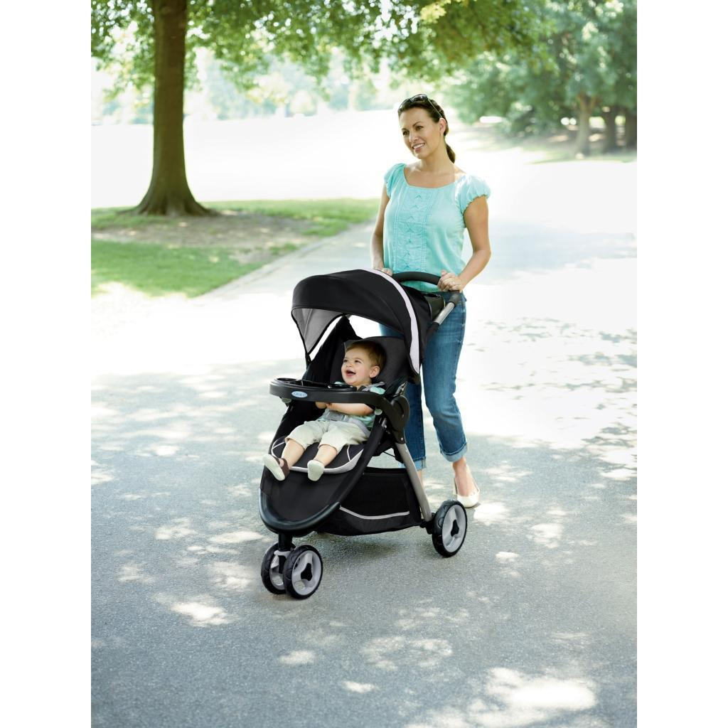63248cf531c5 Amazon.com   Graco Fastaction Fold Sport Click Connect Travel System ...