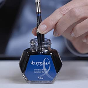 How to Refill Your Fountain Pen with an Ink Bottle - Step 3