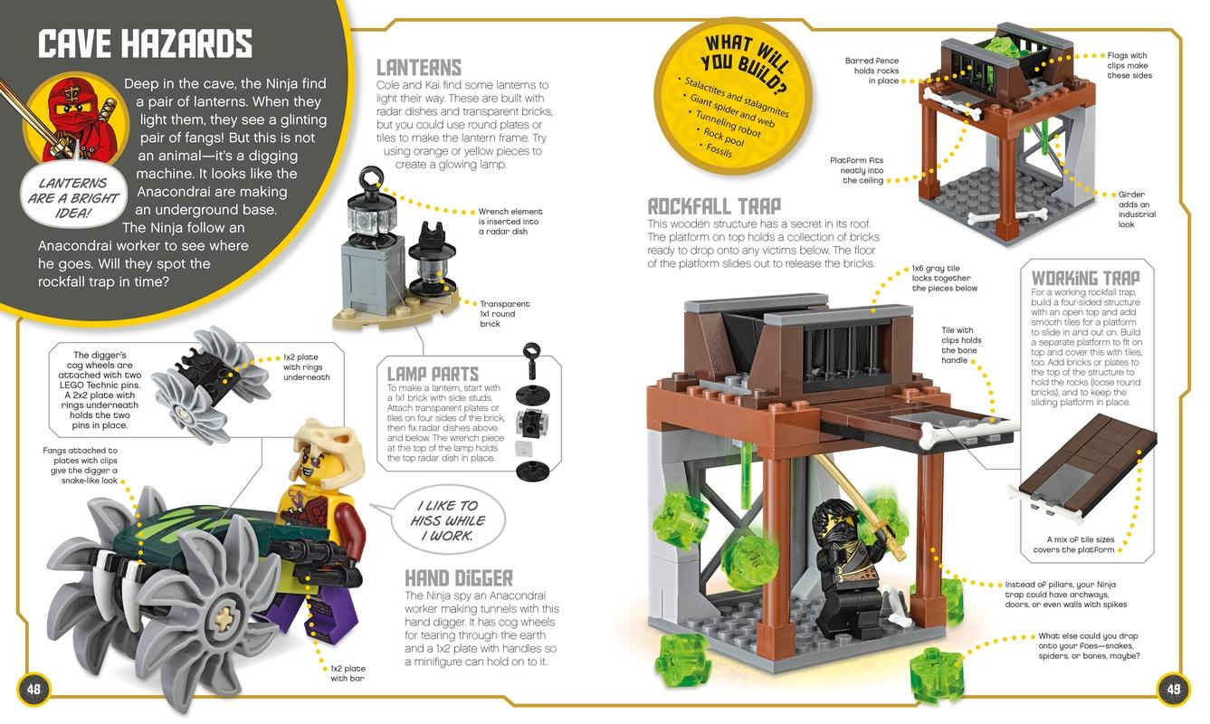 lego ninjago build your own adventure with lloyd minifigure and