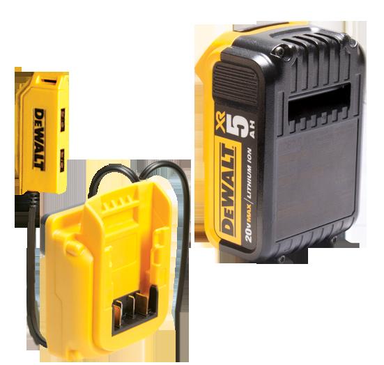 Dewalt Dgcl33 33 Pocket Lighted Usb Charging Tool Backpack