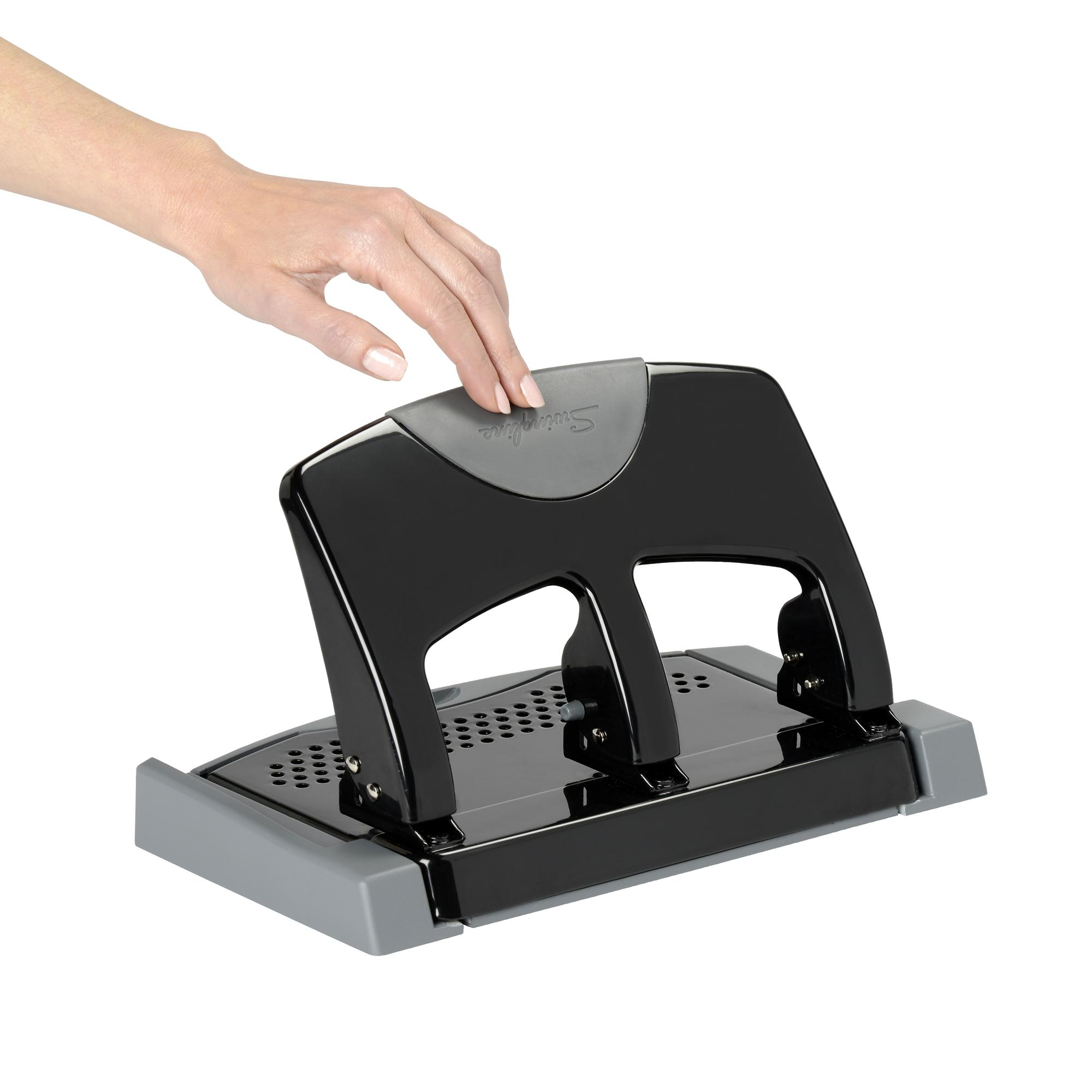 Swingline 3 hole punch smarttouch low force 45 sheets for What does punch out mean in construction