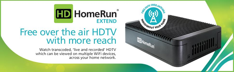 SiliconDust HDHomeRun EXTEND. FREE broadcast HDTV (2-Tuner ...