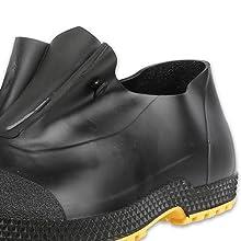 Servus SuperFit 4quot; PVC Dual-Compound Slip-On Men's Overshoes, comfortable overshoes