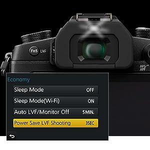 battery saving live viewfinder