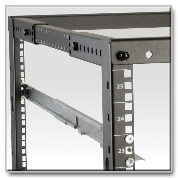 Miraculous Tripp Lite Universal Adjustable Rack Enclosure Server Cabinet Shelf Kit 4Postrailkit1U Home Interior And Landscaping Dextoversignezvosmurscom