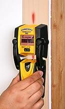 stud finder, wall scanner, TV mount, metal finder, metal scanner, AC wire, wire trace, rebar, copper
