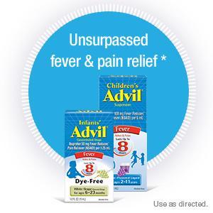 sick just got real, children's advil, infants' advil, advil, child, baby, fever, headache, pain