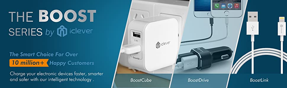 iClever Dual USB Wall Charger