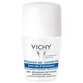 deodorant; vichy deodorant; womens deodorant; roll on deodorant; dry touch deodorant