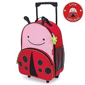 103ef15cb449c1 Amazon.com  Skip Hop Kids Luggage with Wheels