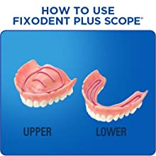 How to Use Fixodent Plus Scope - secure denture adhesive, denture glue