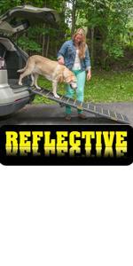 Pet Gear Extra-Wide Reflective Pet Ramp