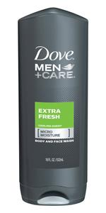 Dove Men+Care Body and Face Wash Extra Fresh