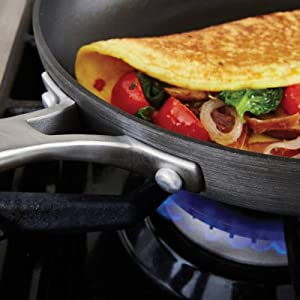 Calphalon Classic Nonstick 10-Inch Fry Pan with Cover - Versatile Fry Pan