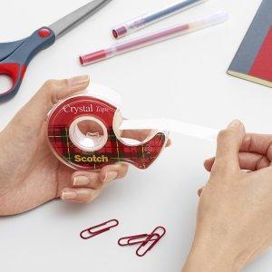 Kristallen tape; scotch tape; kantoortape; transparante tape