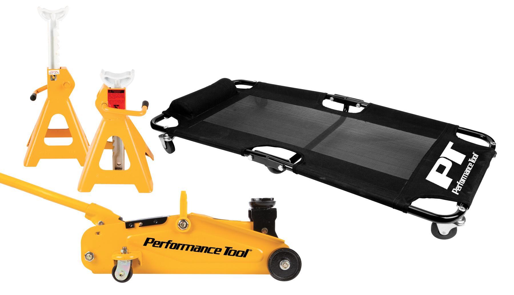 Performance Tool W1601 1 5 Ton Aluminum Floor Jack And