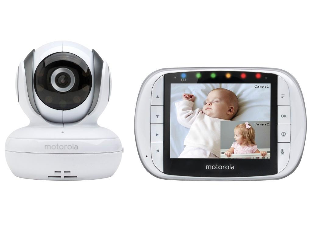buy motorola mbp36s remote wireless video baby monitor with 3 5 inch color lcd screen remote. Black Bedroom Furniture Sets. Home Design Ideas