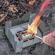 Amazon.com  Esbit 1300-Degree Smokeless Solid 14g Fuel Tablets for ... 7e4ac802754