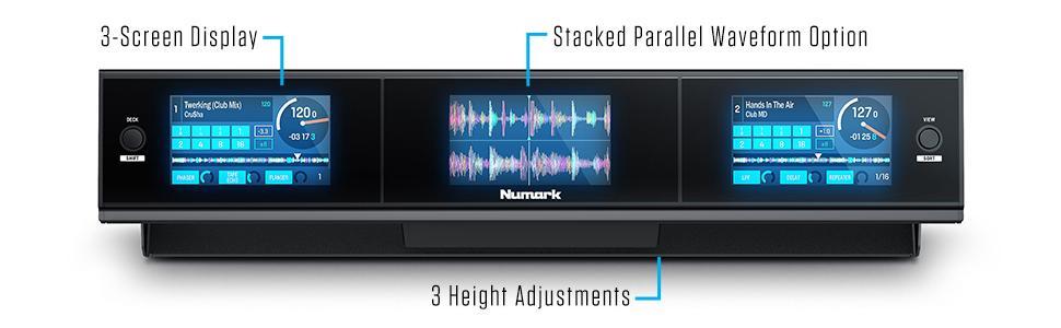 Numark, Dashboard, Pioneer, Rane, Screens, Dj, Party DJ, Dj controller, turntable, DVS, club dj,
