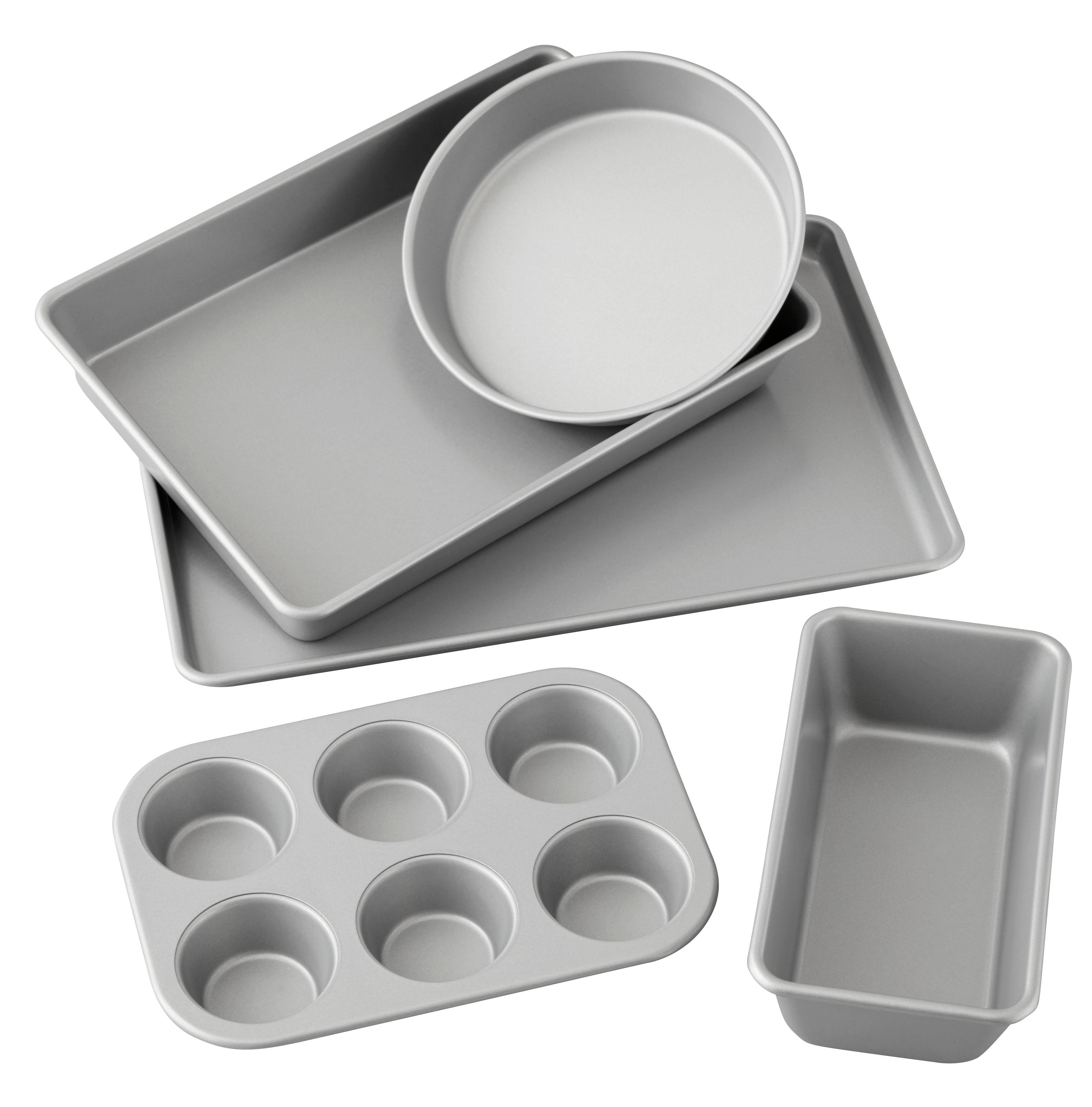 Amazon Com Wilton Best Value Non Stick Baking Set 5