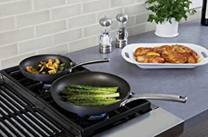 Calphalon Classic Nonstick 2-Piece Fry Pan Set - Aluminum Construction