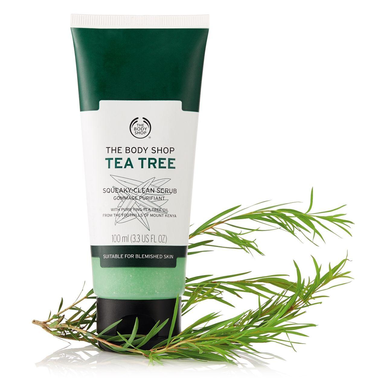 The Body Shop Tea Tree Squeaky Clean Scrub