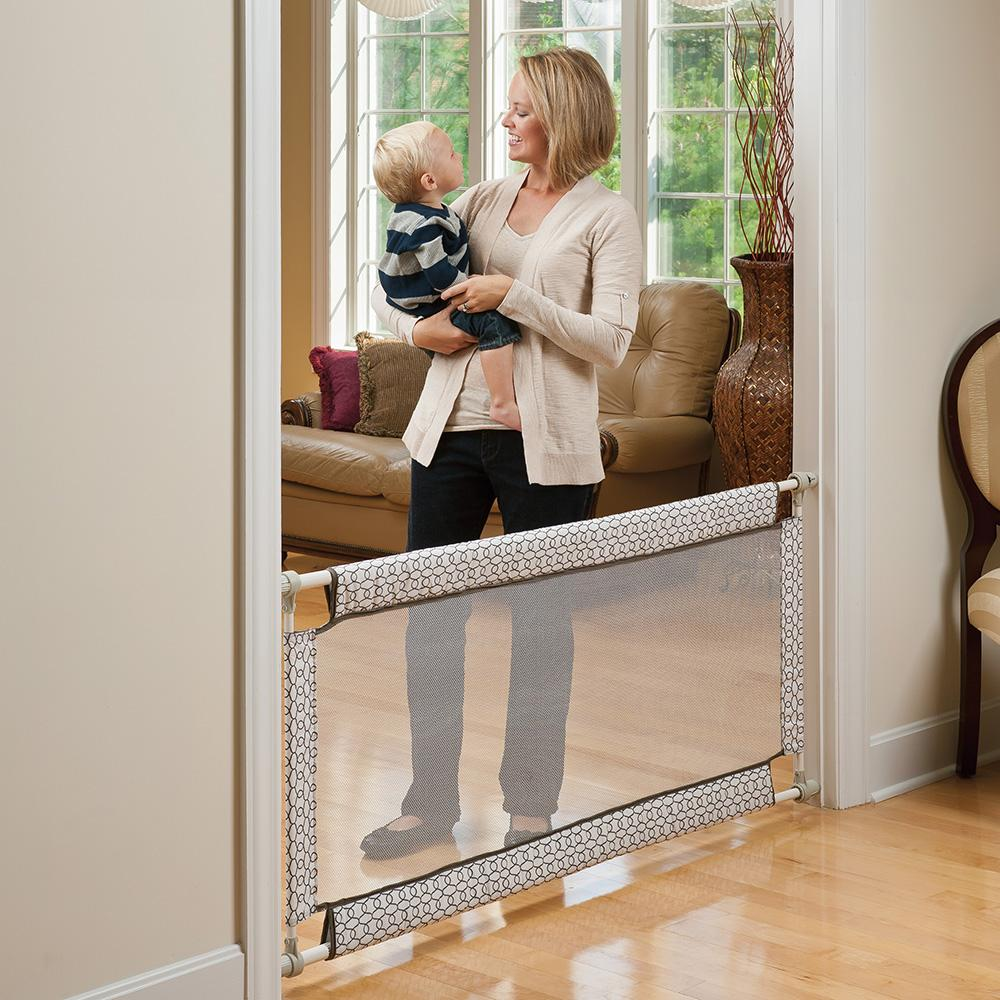 Amazon Com Evenflo Soft And Wide Gate Indoor Safety Gates Baby
