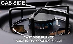 grill, side, burner, char-griller