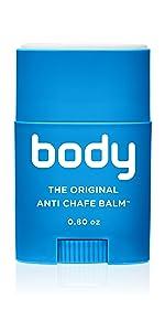 body glide, bodyglide, body, anti chafe, balm, blisters