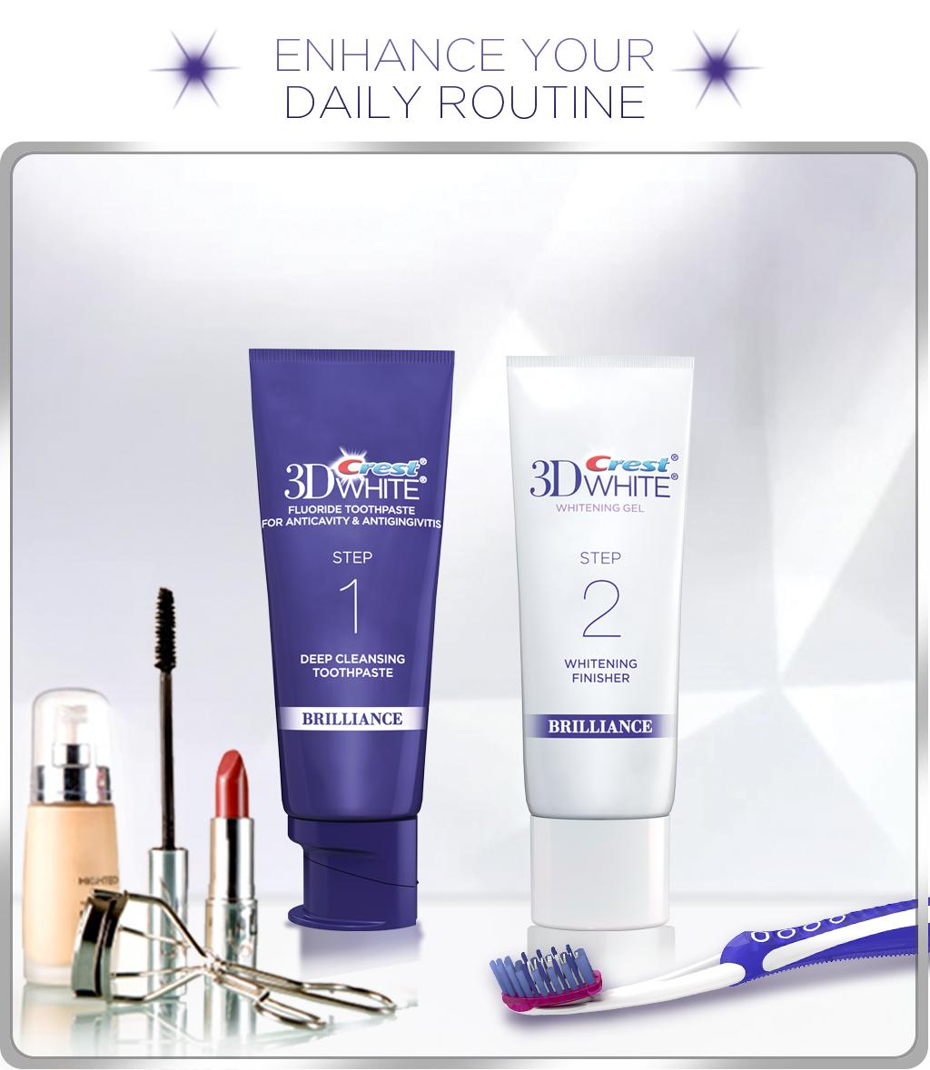 Amazon.com : Crest 3D White Brilliance Toothpaste And