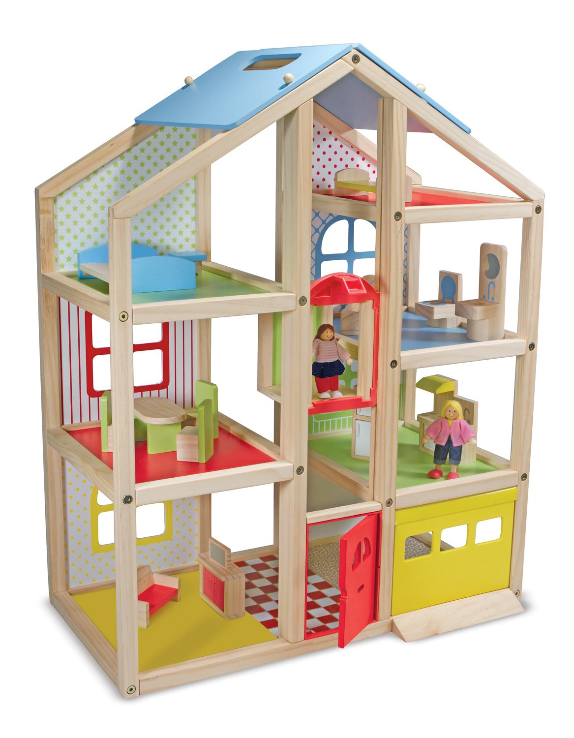 Barbie,doll House, Townhouse,toy For 3 Year Old Girl,boy