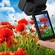 DMC-GX8BODY Free-angle OLED Monitor