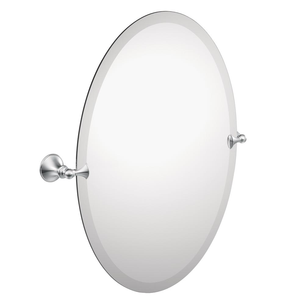 Amazon Com Moen Dn2692ch Glenshire Bathroom Oval Tilting Mirror