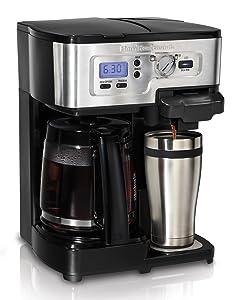 Amazoncom Hamilton Beach Flexbrew Single Serve Full Pot Coffee