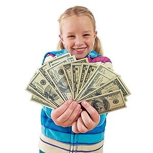 Amazon.com: Educational Insights Play Money - Set of 300 ...