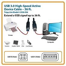 Amazon Com Tripp Lite Usb 3 0 Superspeed Active Repeater