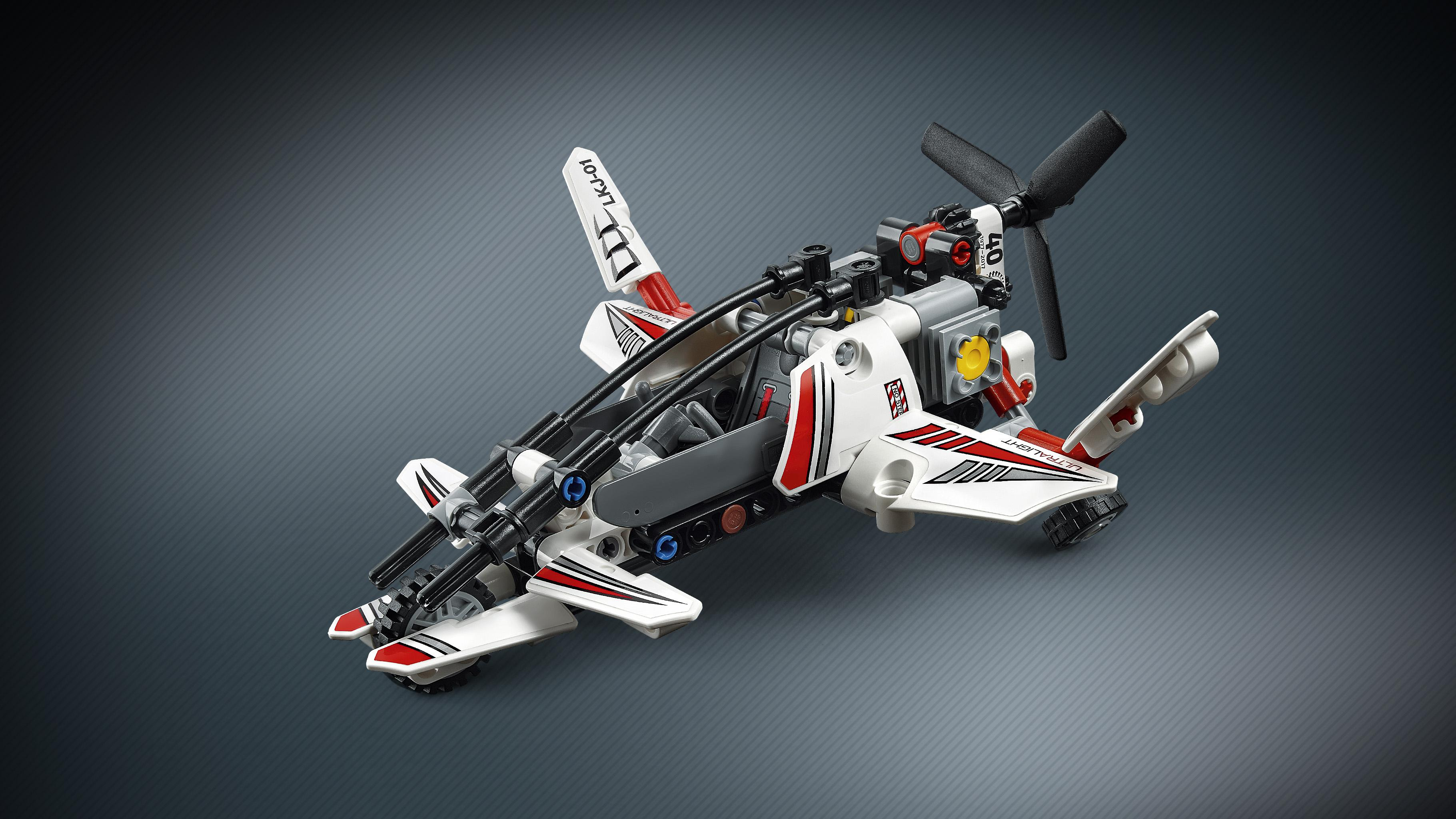 Lego Technic Ultralight Helicopter 42057 Advance Building