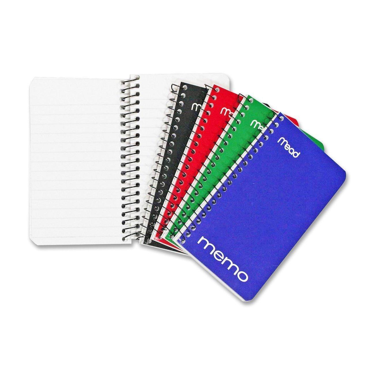 amazon com mead small spiral notebook spiral memo pad college