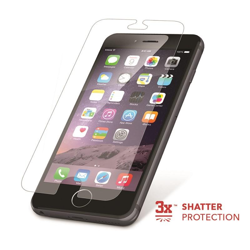 top design 5e9bc ba4c5 ZAGG InvisibleShield HDX Screen Protector - HD Clarity + Extreme Shatter  Protection for Apple iPhone 6