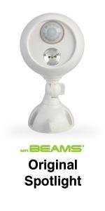 mr beams spotlight, outdoor spotlight, motion sensing spotlight, mb330